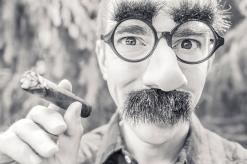 black-and-white-man-person-cigarette